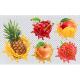 Fresh Fruits And Splashes