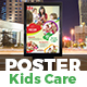 Kids Care Poster Template