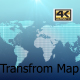 World Map Transformation 4K - VideoHive Item for Sale