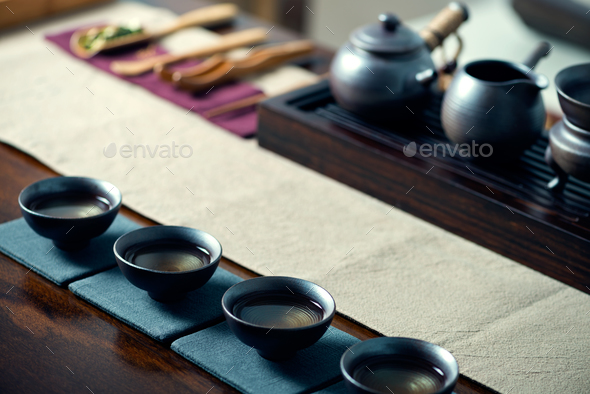 Chinese tea ceremony - Stock Photo - Images