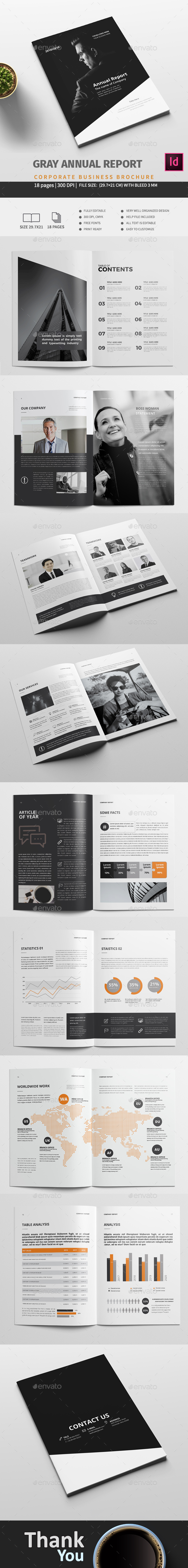 Gray Report - Corporate Brochures