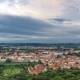Wonderful  View To The City Of Prague