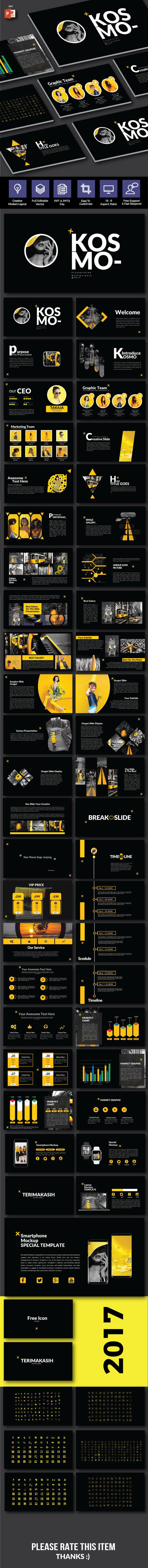 Kosmo - Multipurpose Powerpoint - Creative PowerPoint Templates