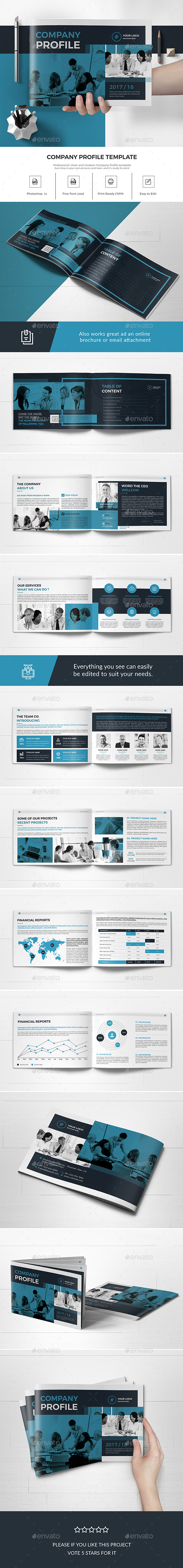 A5 Company Profile - Corporate Brochures