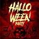 Halloween Flyer Party Template 2
