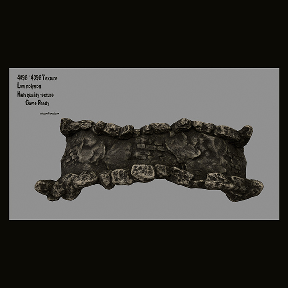 old bridge 9 - 3DOcean Item for Sale