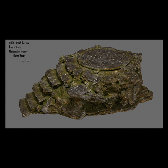 temple 02 - 3DOcean Item for Sale
