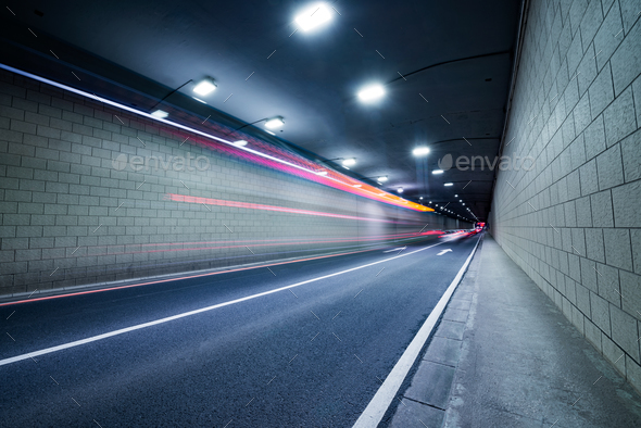 tunnel light - Stock Photo - Images