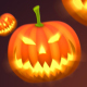 Halloween Pumpkin Background - VideoHive Item for Sale
