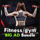 Fitness / Gym Advertising Bundle Vol.1 - GraphicRiver Item for Sale