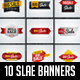 10 Sale Banners