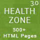 Health Medical Zone -  Medical Fitness - ThemeForest Item for Sale