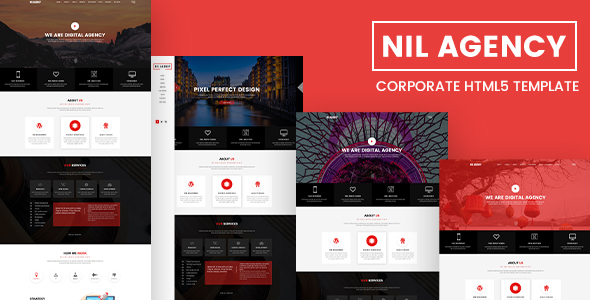 Nil Agency - Corporate HTML5 Template - Corporate Site Templates