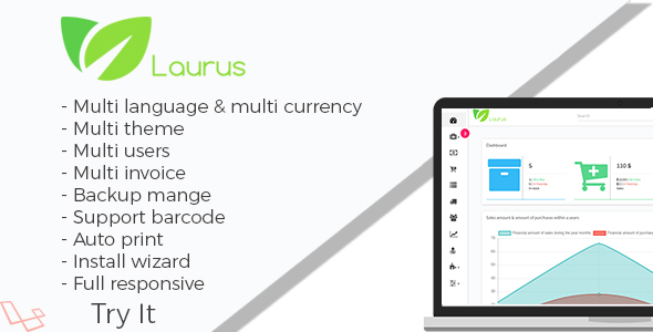 Laurus - Pharmacy Management System Nulled Script