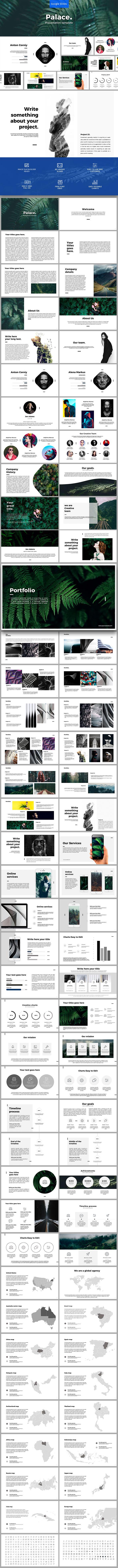 Palace Google Slides - Google Slides Presentation Templates