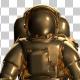 Golden Astronaut