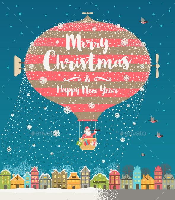 Christmas Vector Illustration - Christmas Seasons/Holidays