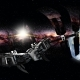 International Space Station Orbiting Earth in Virtual Reality