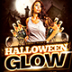 Halloween Glow Flyer Plus FB Cover - GraphicRiver Item for Sale