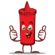 Hot Chili Sauce Mascots - GraphicRiver Item for Sale