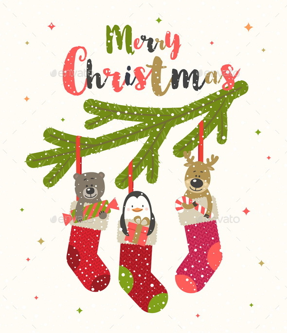 Christmas Vector Illustration - Christmas Seasons/Holidays
