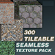 300 Tileable Textures in a Single Bundle
