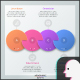 Paper Infographic Circles Template