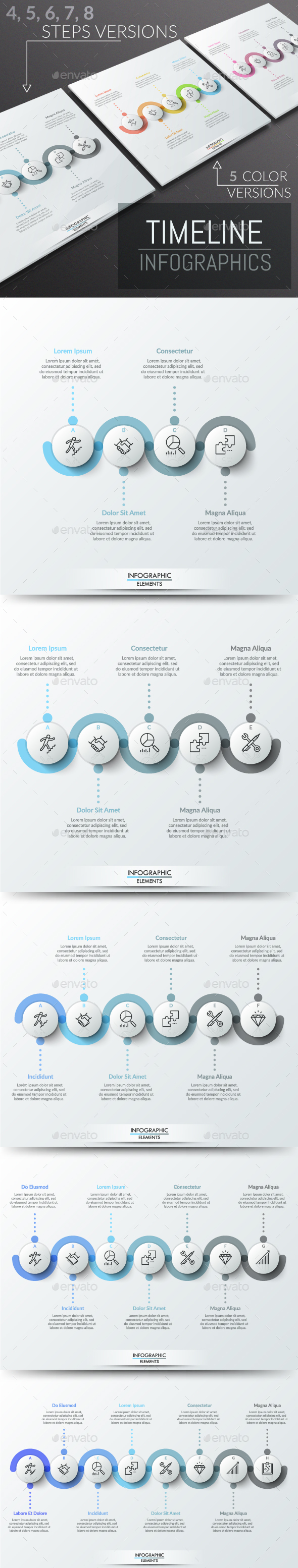 GraphicRiver Modern Infographic Timeline Templates 20736141