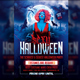 Halloween Party Flyer Psd Template - GraphicRiver Item for Sale