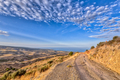 Mountain road with view over sea on Cyprus Island - PhotoDune Item for Sale