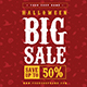 Halloween Sale Instagram Banner - GraphicRiver Item for Sale