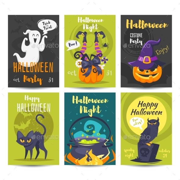 Halloween Poster Design Template - Halloween Seasons/Holidays