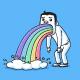 Rainbow Puke - GraphicRiver Item for Sale