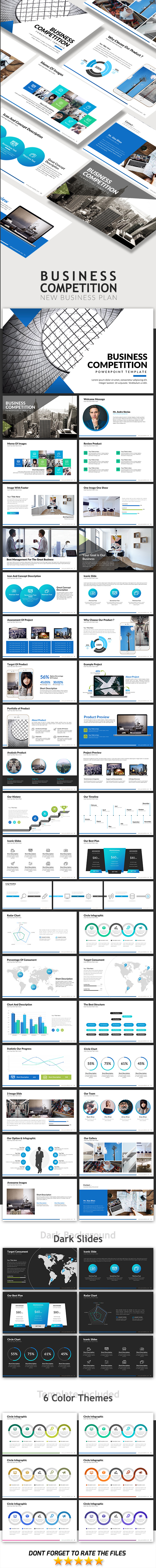 Business Competition - Business PowerPoint Templates