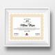 Educational Certificate Template
