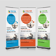 Business Finance Provider Roll Up Banner