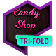 Tri-Fold Brochure: Candy Shop - GraphicRiver Item for Sale