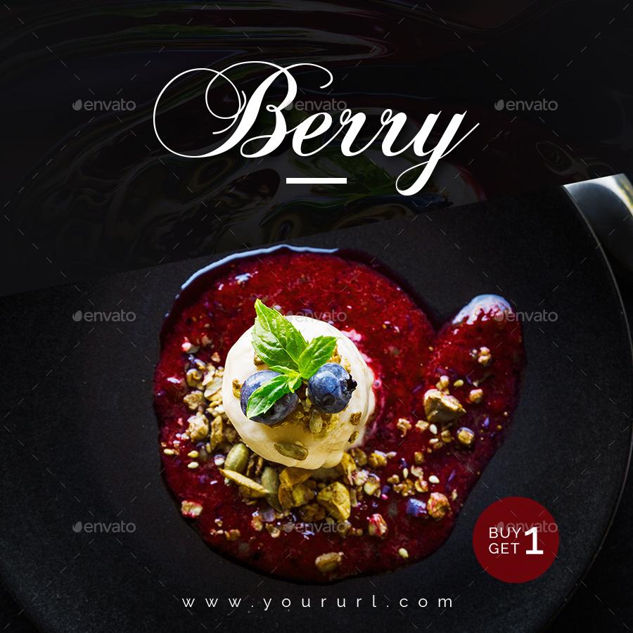 Food restaurant instagram templates designs by doto