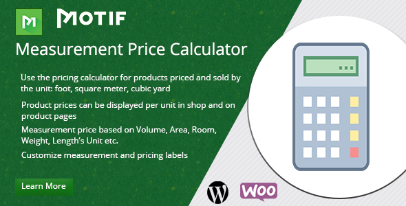 CodeCanyon Woocommerce Measurement Price Calculator Plugin 20738101