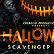 Halloween Scavenger Hunt Flyer Template