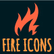 Vector Fire Icons - GraphicRiver Item for Sale