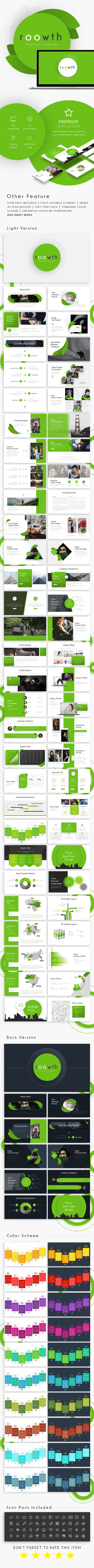 Roowth - Business Presentation - Business PowerPoint Templates