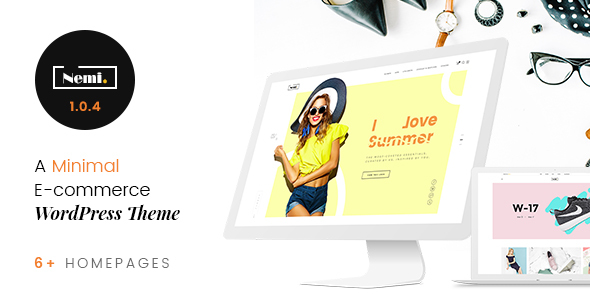 Image of Nemi - Multi Store Responsive WordPress Theme