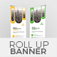 Corporate Roll Up Banner 04 Template