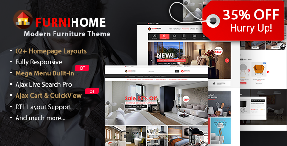 15 best furniture wordpress theme 2017 wpthemego for Addison interior design decoration wordpress theme nulled