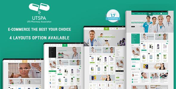 Medicine - Pharmacy Responsive Prestashop 1.7 Theme