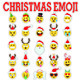 25 Christmas Emoticon Set - GraphicRiver Item for Sale