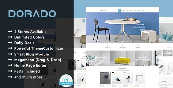 Image of Dorado - Furniture Responsive Prestashop 1.7 Theme