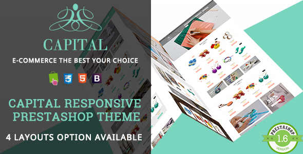 Capital - Handmade Shop Responsive Prestashop Theme - Shopping PrestaShop