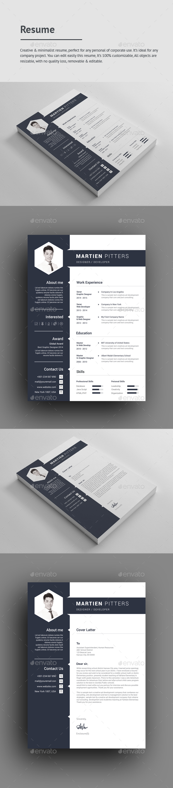 Engineering Resume Template Excel Resume Templates From Graphicriver Artist Resume Templates Pdf with Upload A Resume  Resume Statement Of Purpose